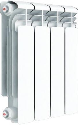 Радиатор отопления алюминиевый Rifar Alum 350 х4 RAL35004