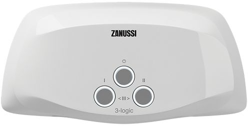 Водонагреватель проточный Zanussi 3-logic 3,5 TS (душ+кран)