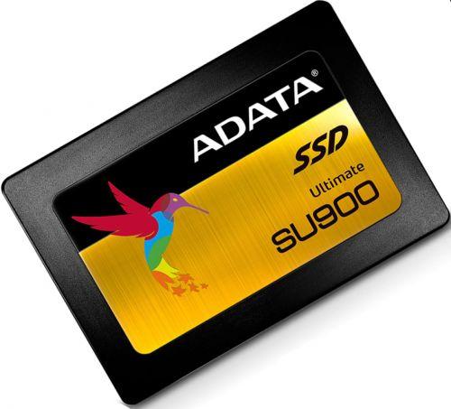 ASU900SS-256GM-C Накопитель SSD 2.5'' ADATA ASU900SS-256GM-C Ultimate SU900 256GB MLC 3D NAND SATA 6Gbit/s 525/560Mbs 256MB IOPS 80/90K 200TBW RTL