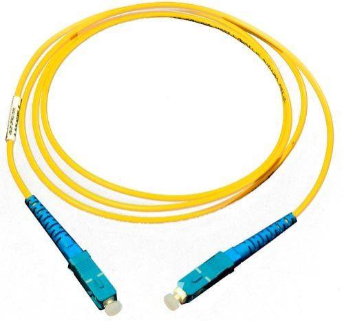 Патч-корд волоконно-оптический TopLAN PC-TOP-652-SC/A-SC/A-0.3 , симплексный, SC/APC-SC/APC, SM, 0.3 м