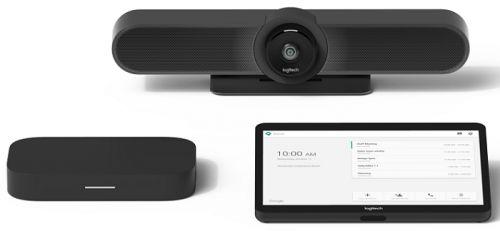 Система для видеоконференций Logitech tapmupzomhpi Small Room with Tap + MeetUp + HP Elite Slice for Zoom Rooms