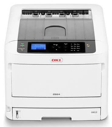 Фото - Принтер цветной светодиодный OKI C824n-Euro 47074204 сетевой А3, 26/14 стр/мин, PCL6 (XL3.0) и PCL5c, SIDM (IBM-PPR, EPSO) принтер цветной светодиодный oki pro9431dn multi 45530407