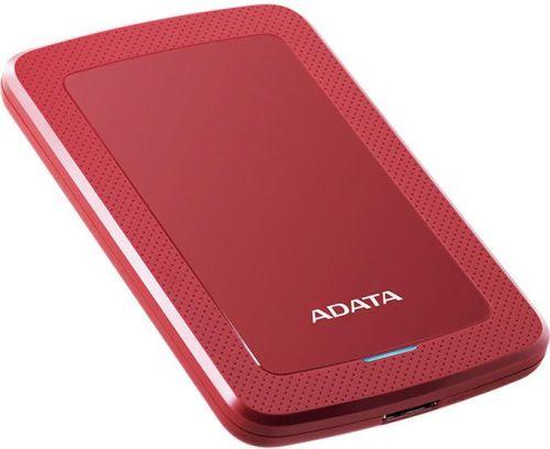 "Adata Внешний жесткий диск 2.5'' ADATA AHV300-2TU31-CRD 2TB HV300, 2,5"" , USB 3.1, красный"