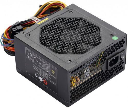 Блок питания ATX Qdion QD500 80+ 500W, 120mm, 5xSATA, 1xPCI-E(6+2), APFC power supply fsp qdion atx 350w 120mm 3xsata nonpfc