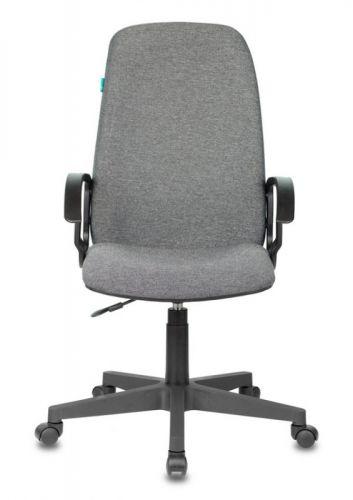 Кресло Бюрократ CH-808LT руководителя, цвет серый 3C1 крестовина пластик