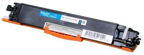 Картридж Sakura SACE311A для HP LaserJet Pro CP1025/CP1025NW, синий, 1000 к.