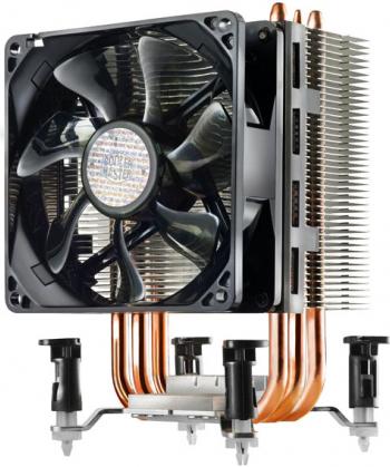 Фото - Кулер Cooler Master Hyper TX3 EVO RR-TX3E-22PK-R1 S1150/1155/1156/775/1366, FM1/AM3+/AM3/AM2 кулер для процессора cooler master hyper 212 spectrum rr 212a 20pd r1