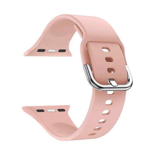 Ремешок на руку Lyambda Avior DSJ-17-40-PK силиконовый для Apple Watch 38/40 mm light pink ремешок для часов lyambda для apple watch 38 40 mm urban dsj 10 72a 40