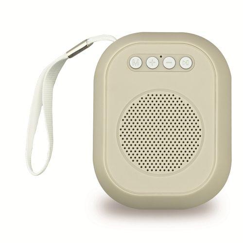 Портативная акустика SmartBuy BLOOM SBS-180 3Вт, Bluetooth, MP3, FM-радио, бежевая
