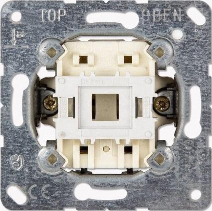 Выключатель Jung EP431U (механизм) 1-клавишный кнопочный НО контакт EcoProfi