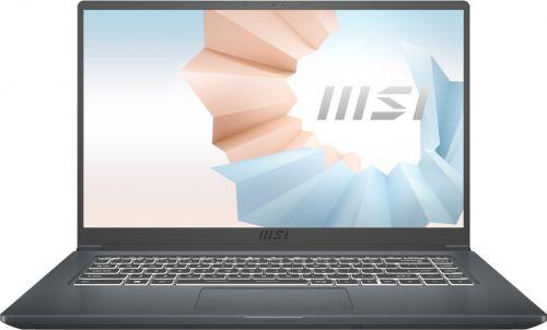 Ноутбук MSI Modern 15 A11SBU-478RU 9S7-155266-478 i5-1135G7/8GB/512GB SSD/noODD/15.6 FHD/IPS/GeForce MX450 2GB/WiFi/BT/Win10Home/carbon grey ноутбук msi modern 15 a11sbl 462ru core i5 1135g7 8gb ssd512gb nvidia geforce mx450 2gb 15 6 ips fhd 1920x1080 windows 10 grey wifi bt cam