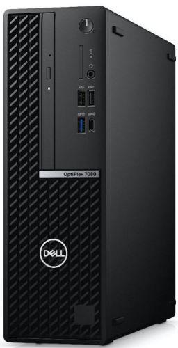 Фото - Компьютер Dell Optiplex 7080 SFF i7-10700/16GB/512GB SSD/Radeon RX 640 4GB/Win10Pro/black компьютер dell precision 3440 sff i7 10700 16gb 512gb ssd intel uhd 630 sd tpm dp win10pro