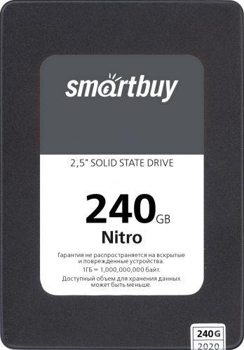 Накопитель SSD 2.5'' SmartBuy SBSSD-240GQ-MX902-25S3 240GB Nitro SATA3.0, 7mm  - купить со скидкой