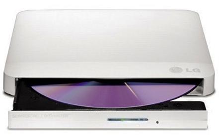 Привод DVD±RW внешний LG GP60NW60 USB 2.0 DVD-RAM/DL White RTL внешний привод dvd±rw lg gp70ns50 usb 2 0 серебристый retail