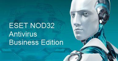 Eset NOD32 Antivirus Business Edition for 91 user продление 1 год