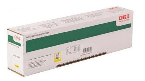 Картридж OKI 45862845/45862814 Tонер-картридж желтый (10К) OKI MC873