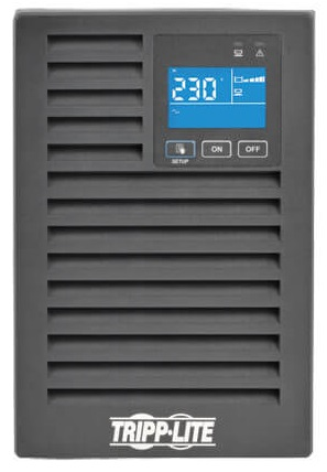 Tripp Lite Источник бесперебойного питания Tripp Lite SUINT1000XLCD SmartOnline 230V 1kVA 900W On-Line Double-Conversion UPS, Tower, Extended Run, Network Card O