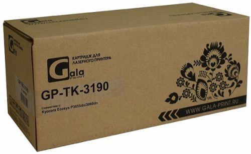 Тонер-туба GalaPrint TK-3190 WC с бункером отработанного тонера 25000 копий