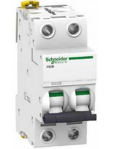 Автоматический выключатель Schneider Electric A9F79210 2P 10A (C)(серия Acti 9 iC60N) автоматический выключатель schneider electric ez9f34210 2p 10a c серия easy 9