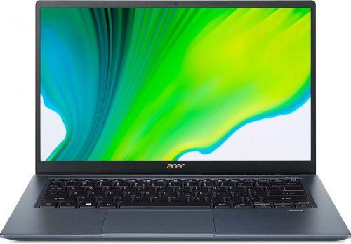 Фото - Ноутбук Acer Swift 3 SF314-510G-592W NX.A0YER.009 i5 1135G7/8GB/SSD 512GB/Iris graphics DG1 4GB/14 IPS/FHD/Win10Home/blue/WiFi/BT/Cam ноутбук hp 17 cd1049ur 22q89ea i5 10300h 16gb 512gb ssd gtx1650 4gb 17 3 fhd ips bt cam free dos