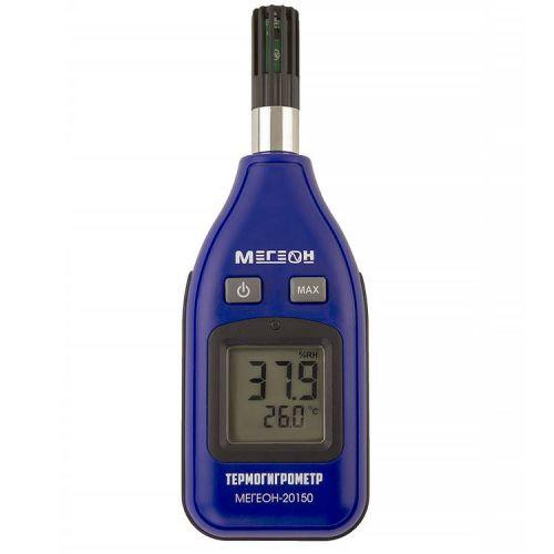 Измеритель температуры и влажности воздуха МЕГЕОН 20150 МЕГЕОН 20150 (термогигрометр), цифровой