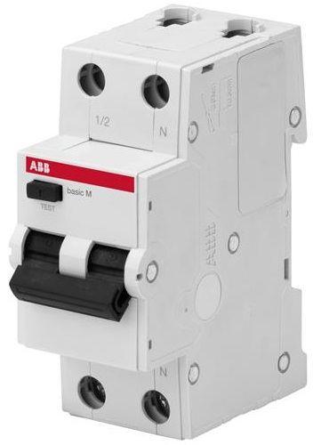 Фото - Автоматический выключатель ABB 2CSR645041R1104 дифференциального тока (АВДТ), 1P+N, 10А, C, 30мA,AC, BMR415C10 автоматический выключатель дифференциального тока tdm electric sq0202 0063 авдт 63м c32 30 ма 4 5 ка