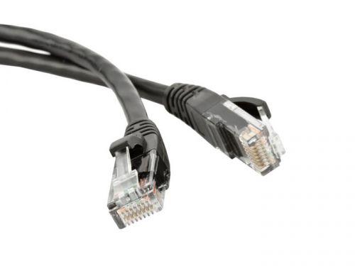 Кабель патч-корд UTP 5e кат. 1м. Lanmaster LAN-PC45/U5E-1.0-BK LSZH, черный патч панель lanmaster lan ppl24u6 черный