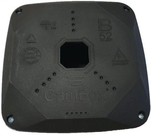 Коробка монтажная Cambox B52 PRO BOX BLK универсальная для камер видеонаблюдения, черная