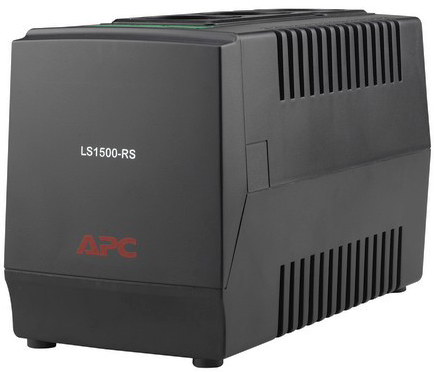 Стабилизатор APC Line-R LS1500-RS 1500VA, automatic voltage regulator, 3 Schuko Outlets, 230V