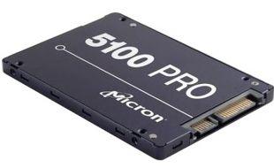 MTFDDAK1T9TCB-1AR1ZABYY Накопитель SSD 2.5'' Crucial MTFDDAK1T9TCB-1AR1ZABYY Micron Enterprise 5100 PRO 1.92TB eTLC 3D SATA 6Gbit/s 520/540MB/s 93/37K IOPS RTL