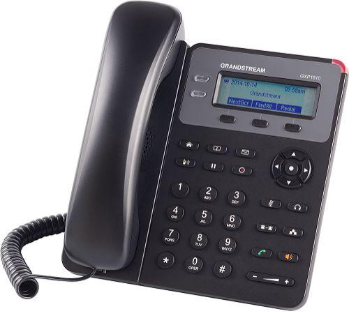 Телефон VoiceIP Grandstream GXP-1610 2 SIP линии, графический дисплей и качественный звук, БП