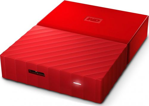 Western Digital Внешний жесткий диск 2.5'' Western Digital WDBUAX0040BRD-EEUE 4TB My Passport USB 3.0 Red
