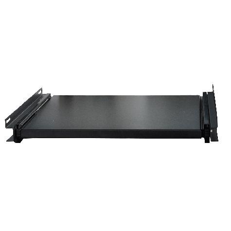 Полка выдвижная W&T WT-2080B, Black для шкафа 600х800