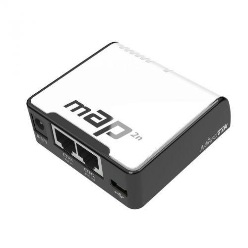 Маршрутизатор Mikrotik RBmAP2nD 802.11n, 2xLAN