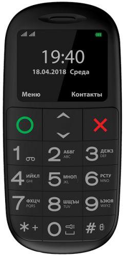 Мобильный телефон Vertex C312 black