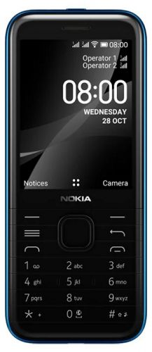Мобильный телефон Nokia 80004GDSBlue 16LIOL01A01