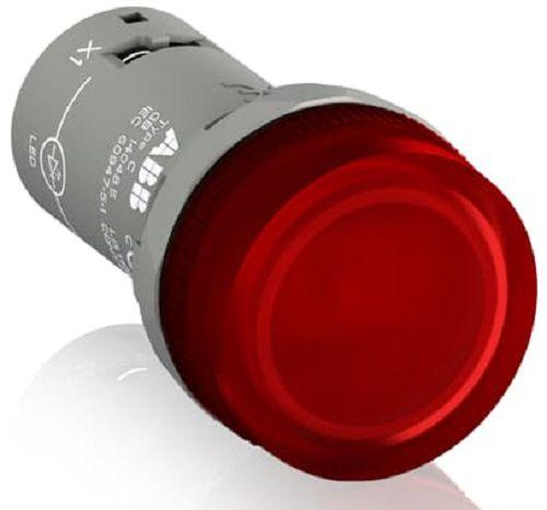Лампа ABB 1SFA619403R5201 CL2-520R красная со встроенным светодиодом 220В DC