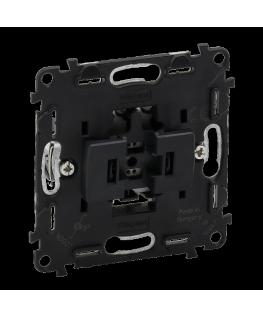 Выключатель Legrand 752011 кнопочный 1-клавишный 6А 250В