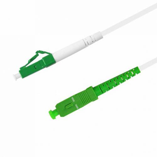 Кабель патч-корд волоконно-оптический TELCORD ШОС-3.0-LC/A-SC/A-SM(A1)-4.0м-LSZH-WH  - купить со скидкой