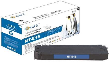 Тонер-картридж G&G NT-E16 Тонер картридж для Canon FC-108/128/206/208/210/220/224/226/230/330/336 PC-860/890