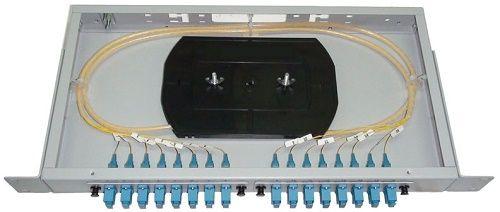 Кросс оптический стоечный Vimcom СКРУ-1U19-A16-SC AD-SC-SM+PT-SM-SC-1 1U 19