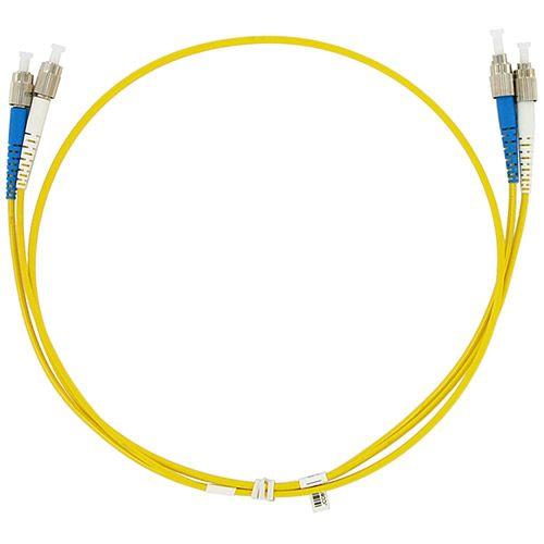 Кабель патч-корд волоконно-оптический TopLAN PC-TOP-652-FC/U-FC/U-3.0 , симплексный, FC/UPC-FC/UPC, SM, 3.0 м