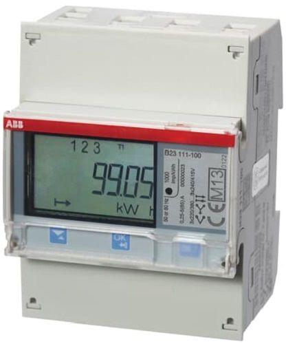 Счетчик ABB 2CMA100801R1000 3-х фазный прямого включения 1-тарифный 5-65 А тарифный план