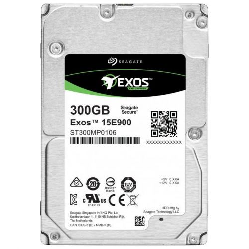 Фото - Жесткий диск 300GB SAS 12Gb/s Seagate ST300MP0106 2.5 Exos 15E900 15000rpm 256MB жесткий диск 2tb sas 12gb s seagate st2000nm003a exos 7e8 512n 3 5 7200rpm