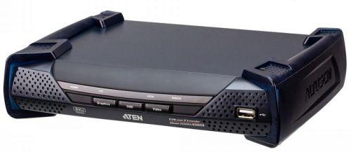 Удлинитель Aten KE6940AR-AX-G приемник, KVM USB 2xDVI-I+AUDIO+RS232, 100м. UTP/10км. SM точка-точка/неогранич. в пределах LAN, 1xUTP/2xОптич.волокна S