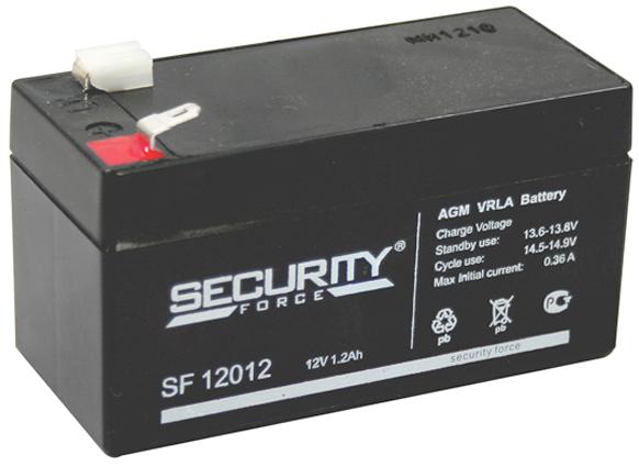 Security Force 12В, 1.2 Ач