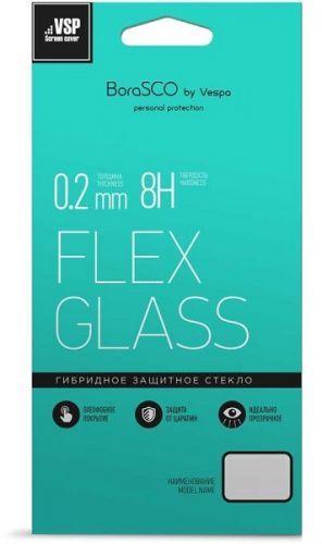Фото - Защитное стекло BoraSco 37325 гибридное Flex Glass VSP 0,26 мм для Xiaomi Redmi 7A защитное стекло borasco 19934 гибридное flex glass vsp 0 26 мм для xiaomi mi 4i4c