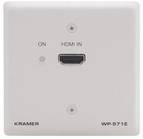 Передатчик Kramer WP-571E(W)-86 50-80172490 HDMI по витой паре DGKat, цвет белый