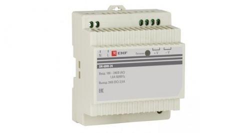 Блок питания EKF DR-60W-24 24В