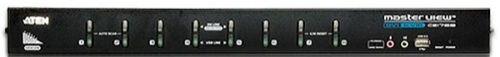 Переключатель KVM Aten CS1768-AT-G KVM+Audio,1 user USB+DVI => 8 cpu USB+DVI, со шнурами USB DVI-D 2x1.8м., 1920x1200 DVI Single Link/2048x1536 VGA, 1